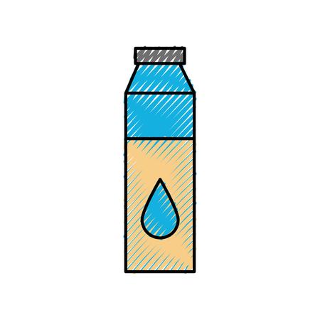 bottle medical liquid drug pharmacy concept vector illustration