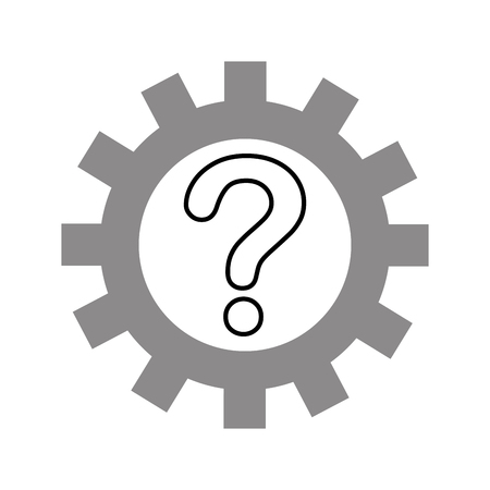 klantenservice oplossing vraag assitance vector illustratie