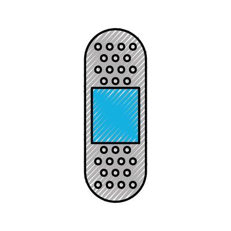 包帯医療ヘルプ アイコン ベクトル図
