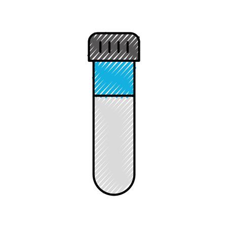 모자 실험 장비 벡터 일러스트와 함께 유리 테스트 튜브 스톡 콘텐츠 - 86642015