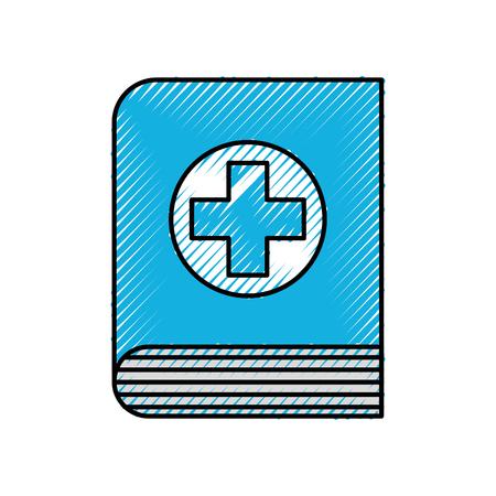 医学の本科学文献医療アイコン ベクトル図