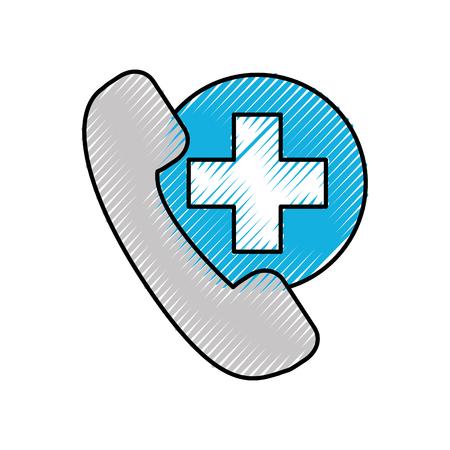 Téléphone aide d & # 39 ; urgence de l & # 39 ; assurance des Banque d'images - 86898400