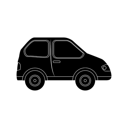 car icon over white background vector illustration Zdjęcie Seryjne - 86957706