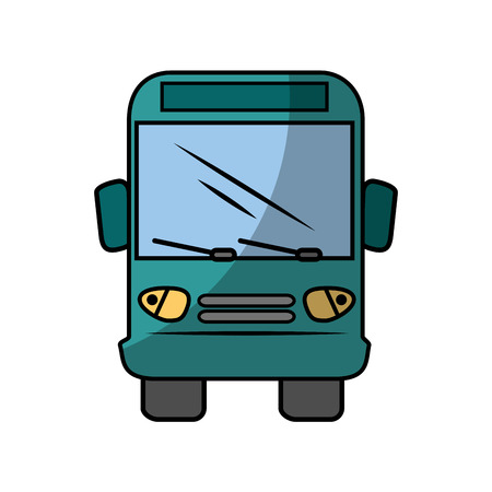 Bus icon over white background vector illustration Stock Vector - 86817751
