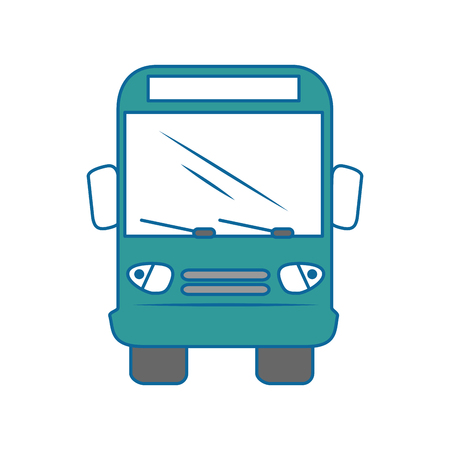 Bus icon over white background vector illustration Stock Vector - 86751409