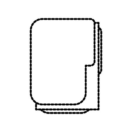 office フォルダー ファイル紙ドキュメント アイコン ベクトル図