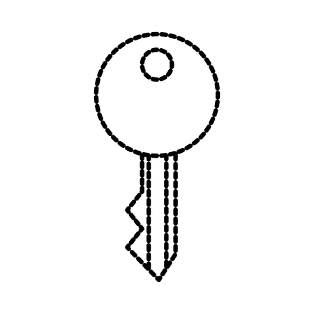 sleutel toegang beveiligingssymbool voor uw website vectorillustratie