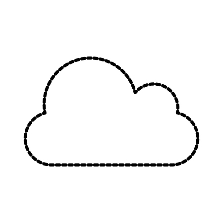 cloud computing storage file data vector illustration