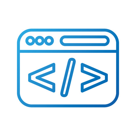 コーディングスクリプト web 開発とプログラミングの最適化ベクターイラスト