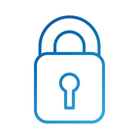 보호 디지털 데이터 메커니즘 시스템 개인 정보 보호 정책 벡터 일러스트 레이션 스톡 콘텐츠 - 86857112