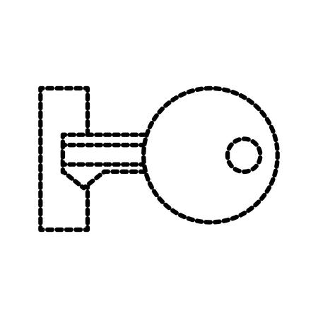 データ キーへのアクセス プライバシー情報システムのベクトル図  イラスト・ベクター素材