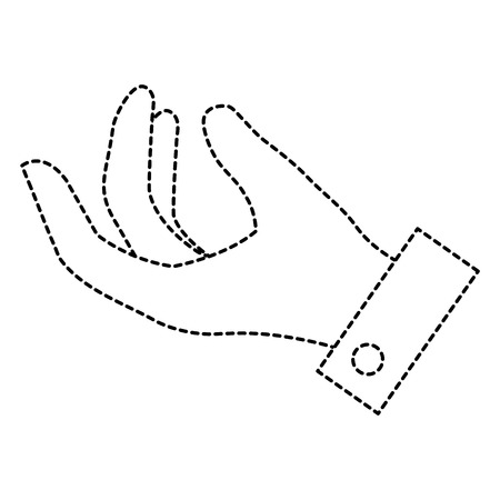 human hand catching icon vector illustration design Ilustracja