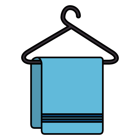Clean laundry hanging icon vector illustration design Ilustrace