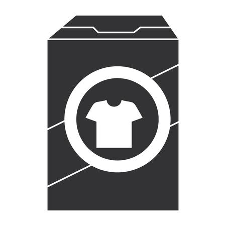 Detergente en polvo icono de caja de diseño de ilustración vectorial Foto de archivo - 86857846
