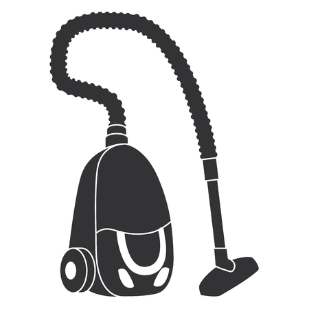 vacuum appliance isolated icon vector illustration design Ilustração Vetorial