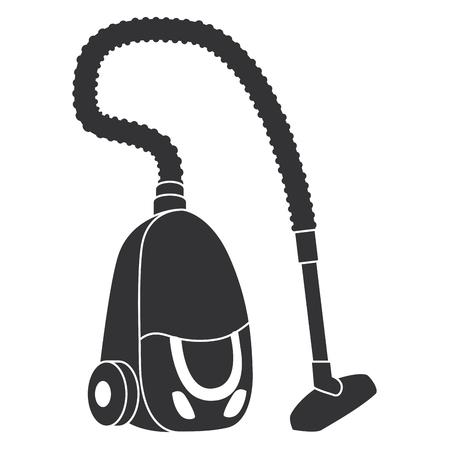 Vakuum-Gerät isoliert Symbol Vektor-Illustration-Design Vektorgrafik