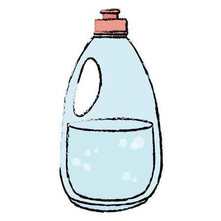 cleaner bottle laundry product vector illustration design Ilustração