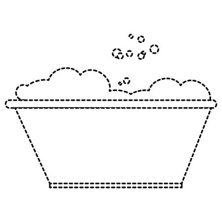 거품 벡터 일러스트 디자인 플라스틱 세탁기
