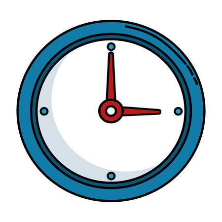 time clock isolated icon vector illustration design Фото со стока - 86926124