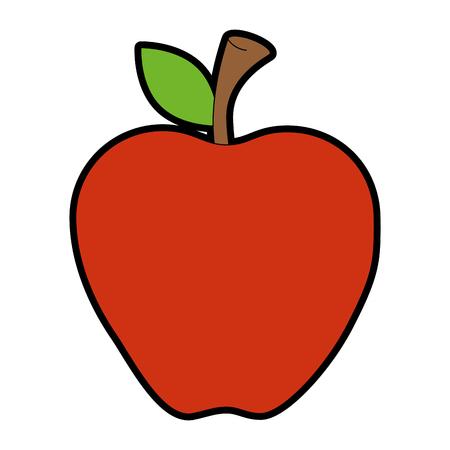 apple fruit isolated icon vector illustration design Imagens - 86926240