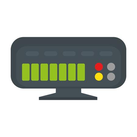 router geïsoleerd pictogram vectorillustratieontwerp Stock Illustratie