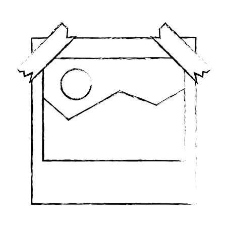 picture file isolated icon vector illustration design Reklamní fotografie - 86926551