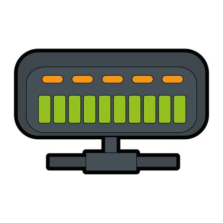Router netto isolato illustrazione vettoriale illustrazione icona Archivio Fotografico - 86926659