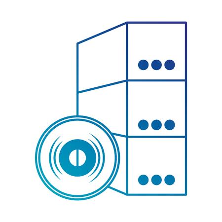 software installation disk and box vector illustration design Ilustração
