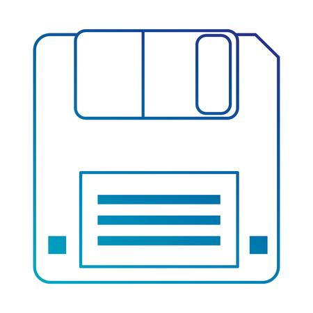 floppy disk data storage vector illustration design