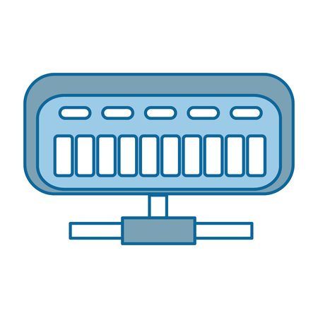 net router isolated icon vector illustration design