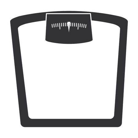 scale weight measure icon vector illustration design Banco de Imagens - 86934057