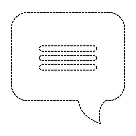 音声バブル分離アイコンベクトルイラストデザイン