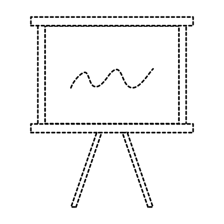 Paperboard training icon