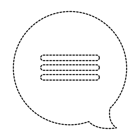 Speech bubble icon Иллюстрация