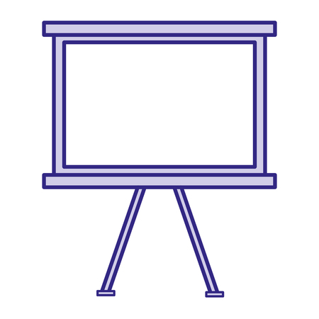 Paperboard training isolated icon vector illustration design Illustration