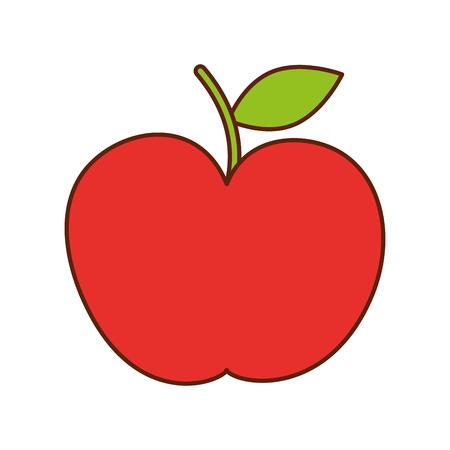 Apple, a teacher gift celebration symbol vector illustration Banco de Imagens - 86934215