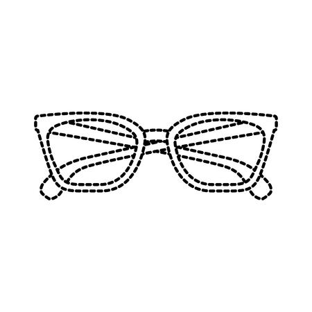メガネアクセサリーファッションオブジェクト要素ベクトルイラスト