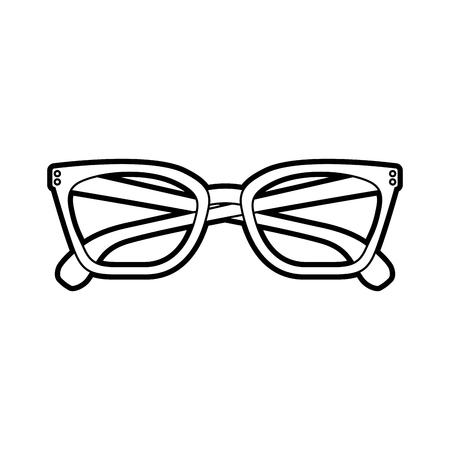 眼鏡アクセサリー ファッション オブジェクト要素ベクトル イラスト