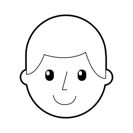 happy man teacher cartoon education vector illustration Ilustração