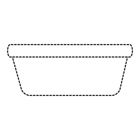 プラスチック ランドリー コンテナー アイコン ベクトル イラスト デザイン  イラスト・ベクター素材