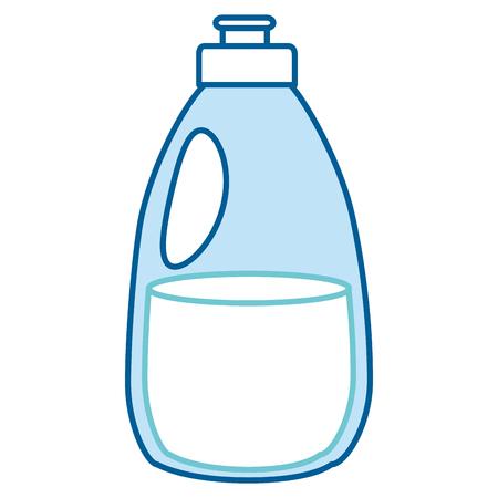 Limpiador botella de productos de lavandería ilustración vectorial diseño Foto de archivo - 87003009