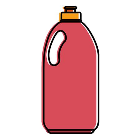cleaner bottle laundry product vector illustration design Illustration