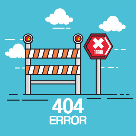 404 connection error icons