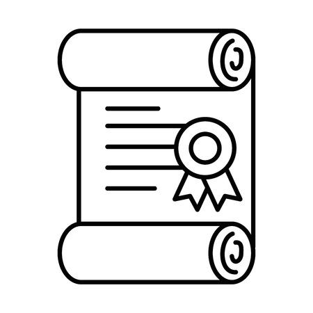 Pixelated pictogram van de het pictogram vectorillustratie van het diplomagame Stockfoto - 87064867