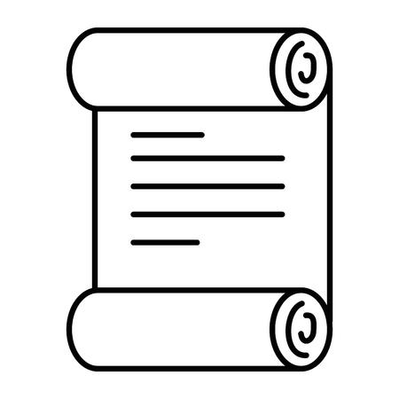 pixelated pictogram van de het pictogram vectorillustratie van het diplomagame Stock Illustratie
