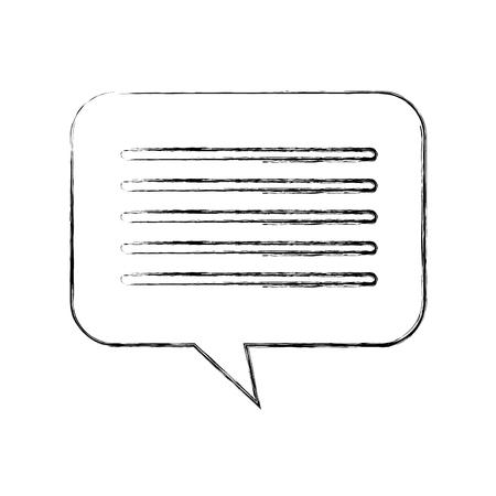 音声バブル メッセージ チャット ダイアログ メディア ベクトル イラスト  イラスト・ベクター素材
