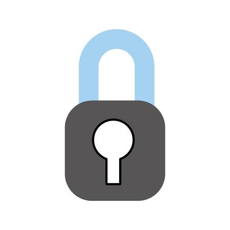 セキュリティ インター ネット アクセス情報保護ベクトル図