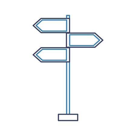 traffic signal arrows guide direction icon vector illustration 版權商用圖片 - 87257771