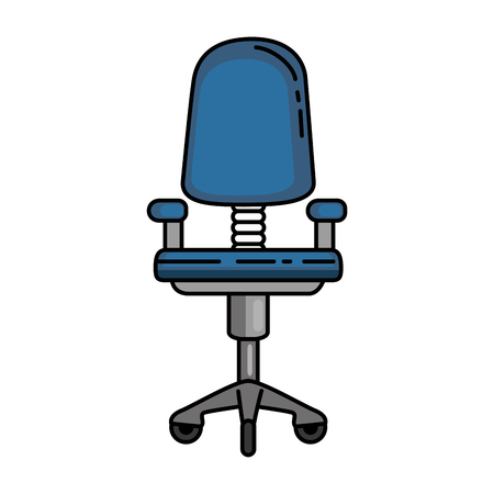 office chair isolated icon vector illustration design Stock Vector - 87229787