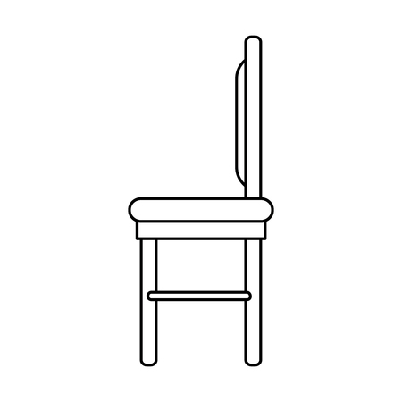 dining room chair icon vector illustration design
